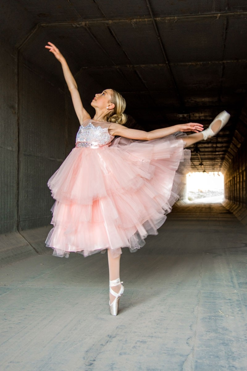 The Fancy Dress- Blush Pink