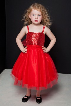 Adele Dress-Red