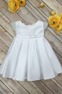 Elsie's Baby Dress-White