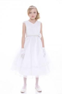 Melody Dress-White