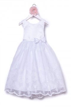 Claudia Dress-White