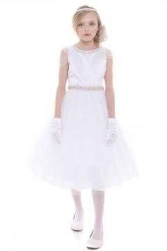 April Dress-White