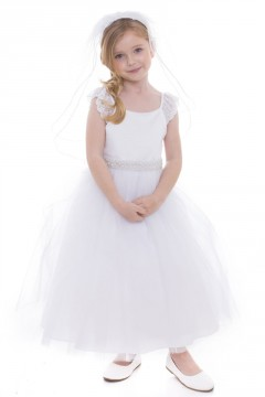 Sophia Dress- White