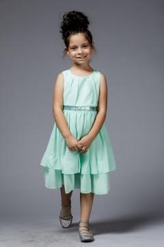 Mia Dress - Mint