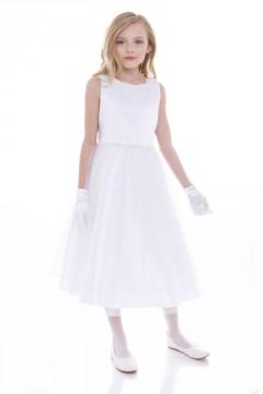 Adriana Dress-White