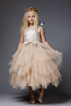 Peyton Dress_champagne