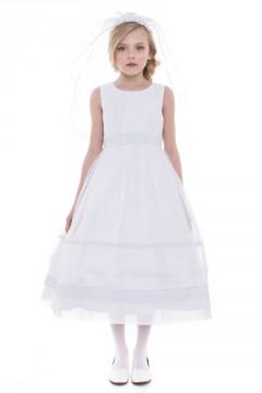 Brea Dress-White