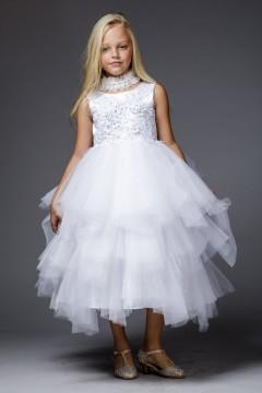 The Lavish Dress-White