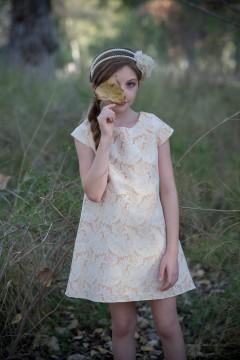 Audry Dress-Orange