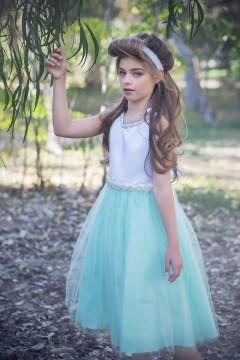 April Dress-Mint