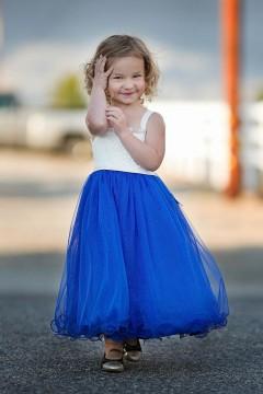 Bianca Dress-Royal Blue_Baby