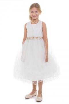 Skyler Dress-White