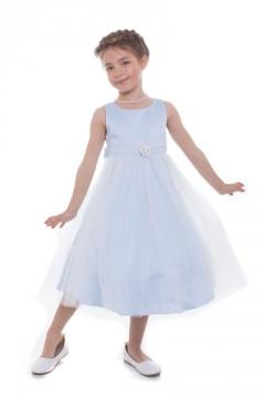 Rossie Dress-Blue