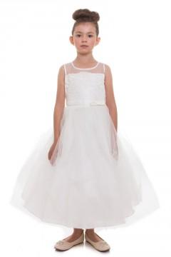 Aurora Dress-Ivory