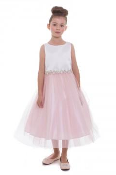 Abigail Dress in Blush