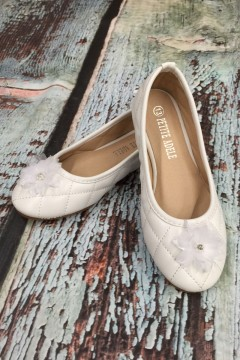 Flower Girl Shoes with Flower