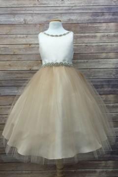 April Dress-Champagne