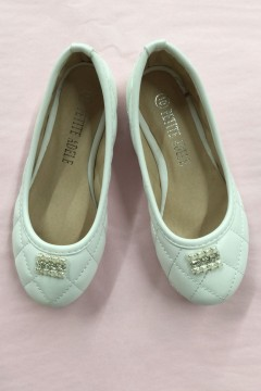 Cute Flower Girl Shoes with Pearls