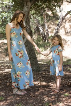 Adorable Mommy and Me Matching Dresses