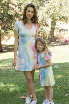 Soft and Trendy Matching Mom and Me Dresses