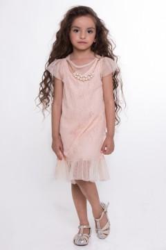 Bella Dress-Peach