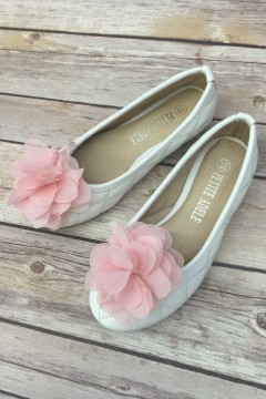 Chiffon Flower Girl Shoes