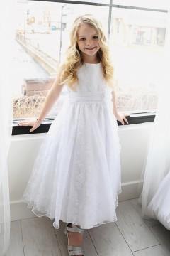 Megan Dress-White