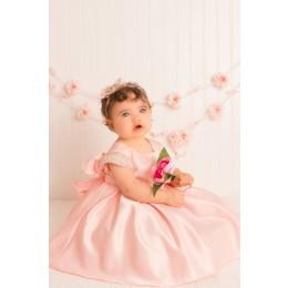 Elsie's Baby Dress-Pink