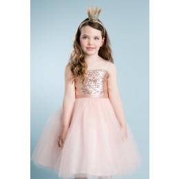 Adele Dress-Blush